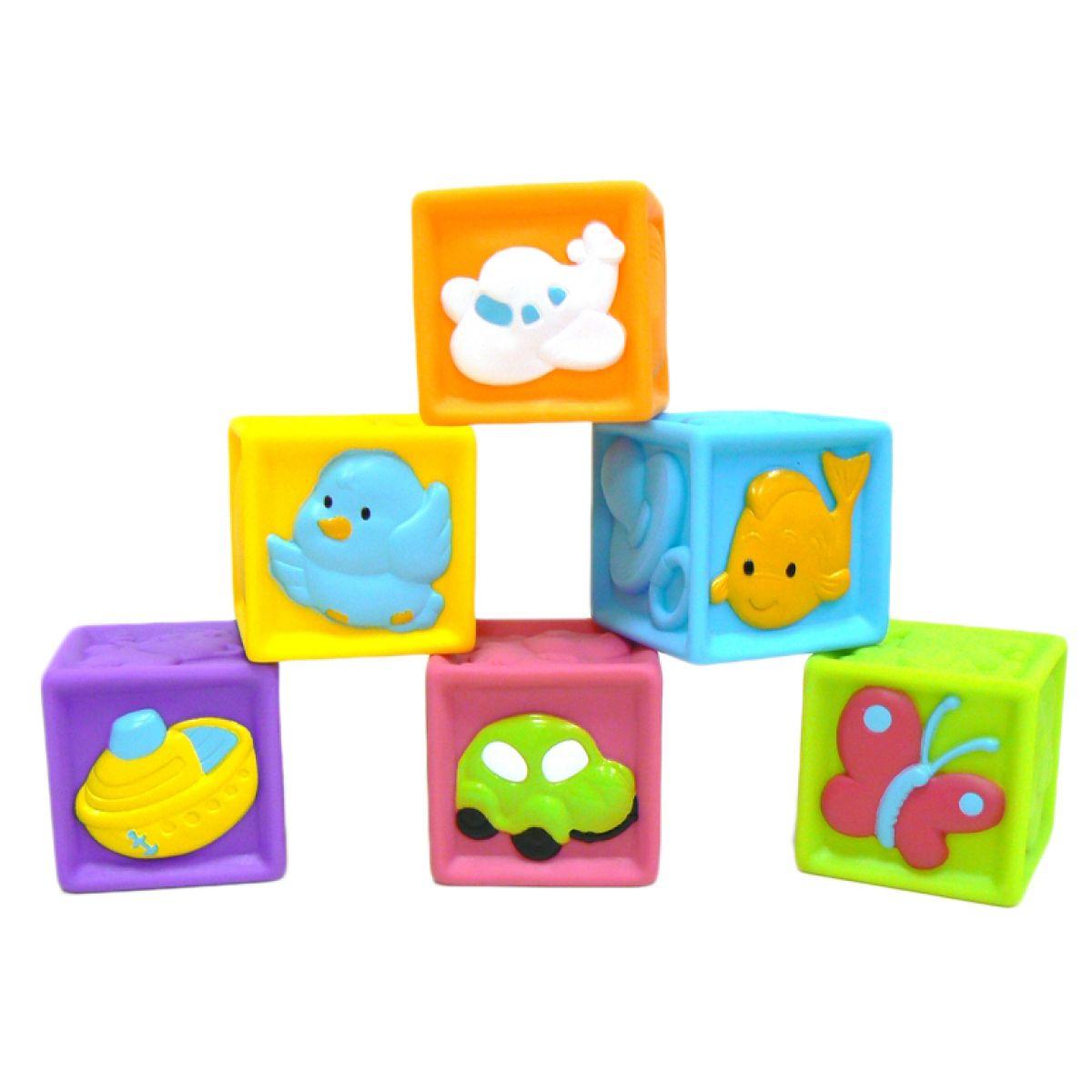 Redbox 23305 Detské pískacie kocky 6ks