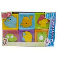 Redbox 23305 Detské pískacie kocky 6ks 2