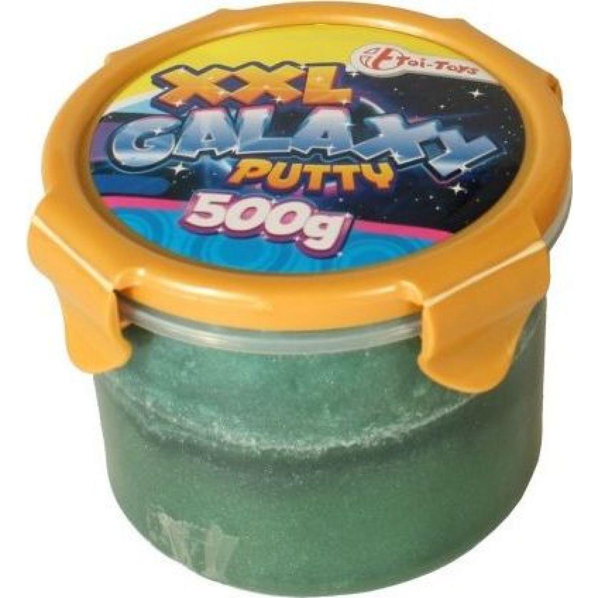 Teddies Inteligentné slizová hmota galaxie 500g tmavo zelená
