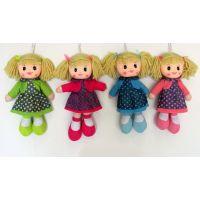 Látková bábika s bodkami 30 cm