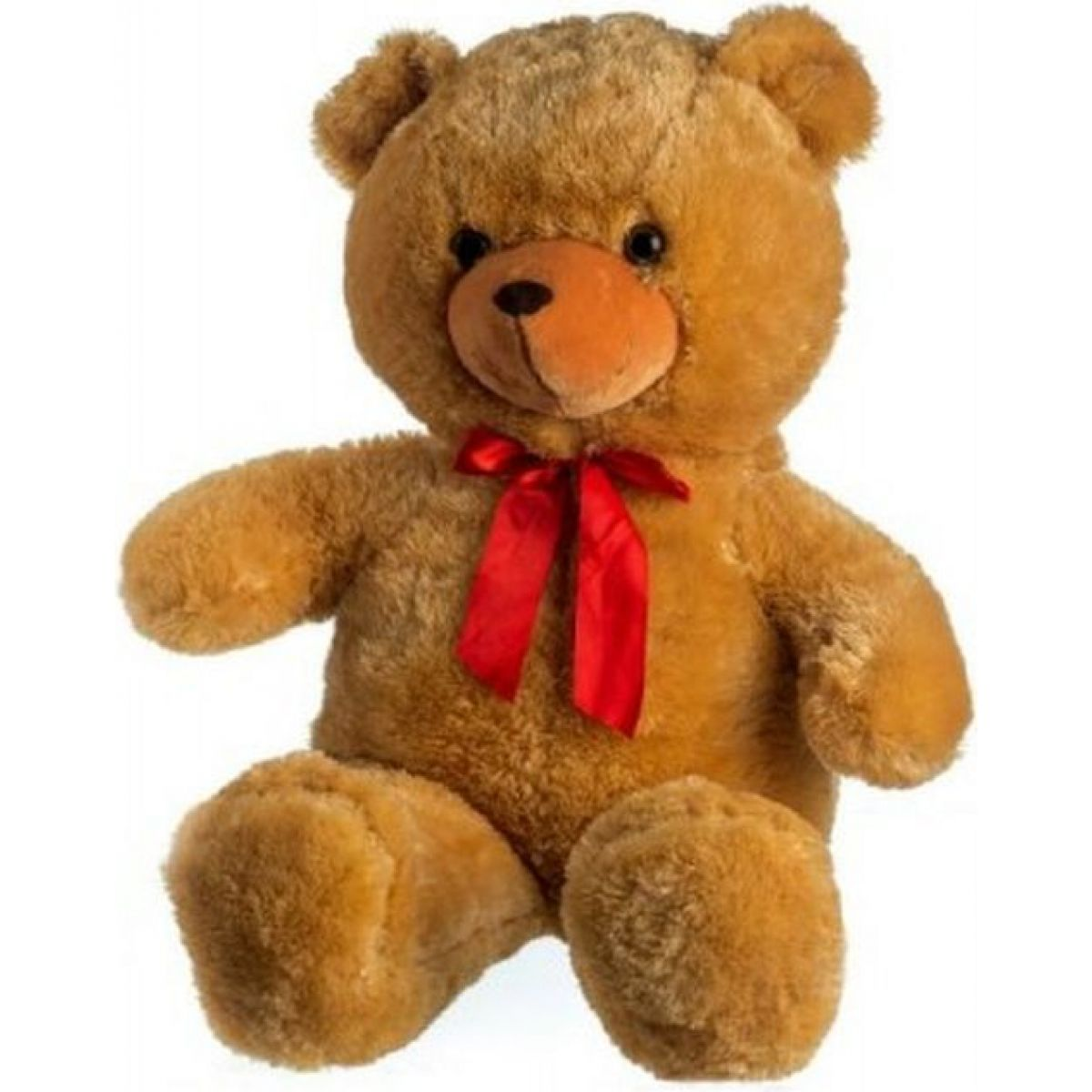 Medvěd s mašlí světle hnědý 100cm