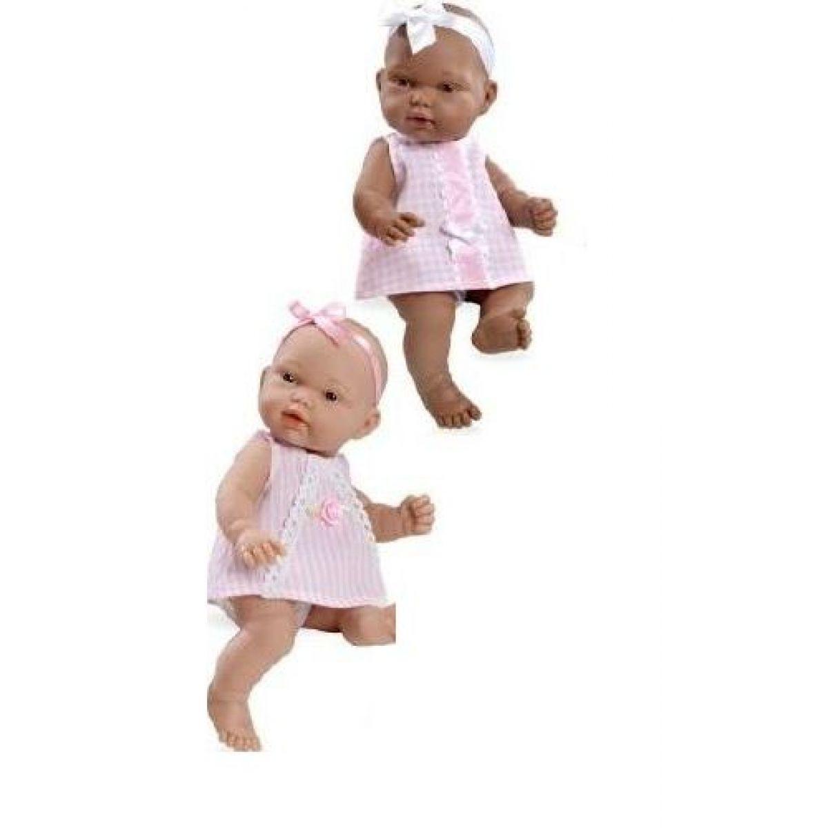 Bábika bábätko voňajúce 26 cm - Ružové šaty