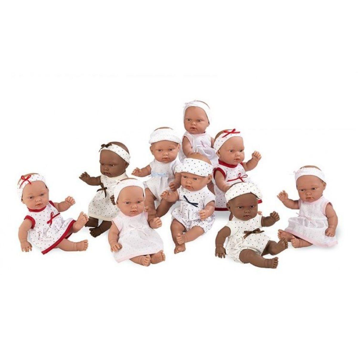 Teddies Bábika bábätko voňajúce 26cm Bodkované šaty