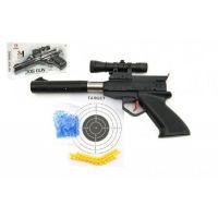 Teddies Pistole plastová na měkké a vodní kuličky o průměru 6mm