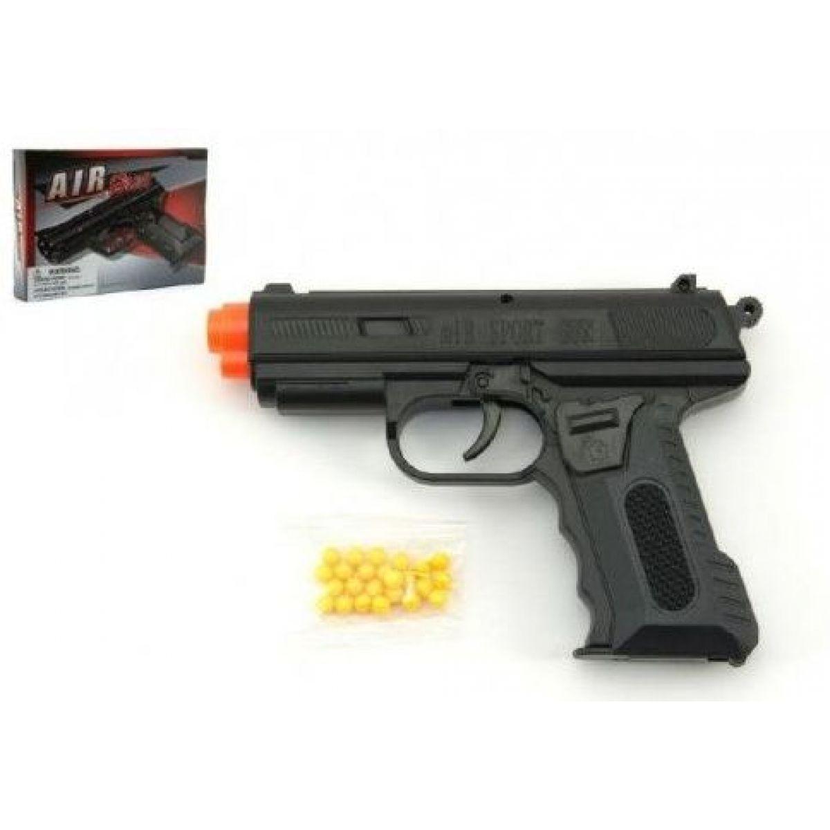Pištoľ so zásobníkom na guličky