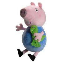 Teddies Plyšová postavička Tom z pohádky Prasátko Peppa 30 cm