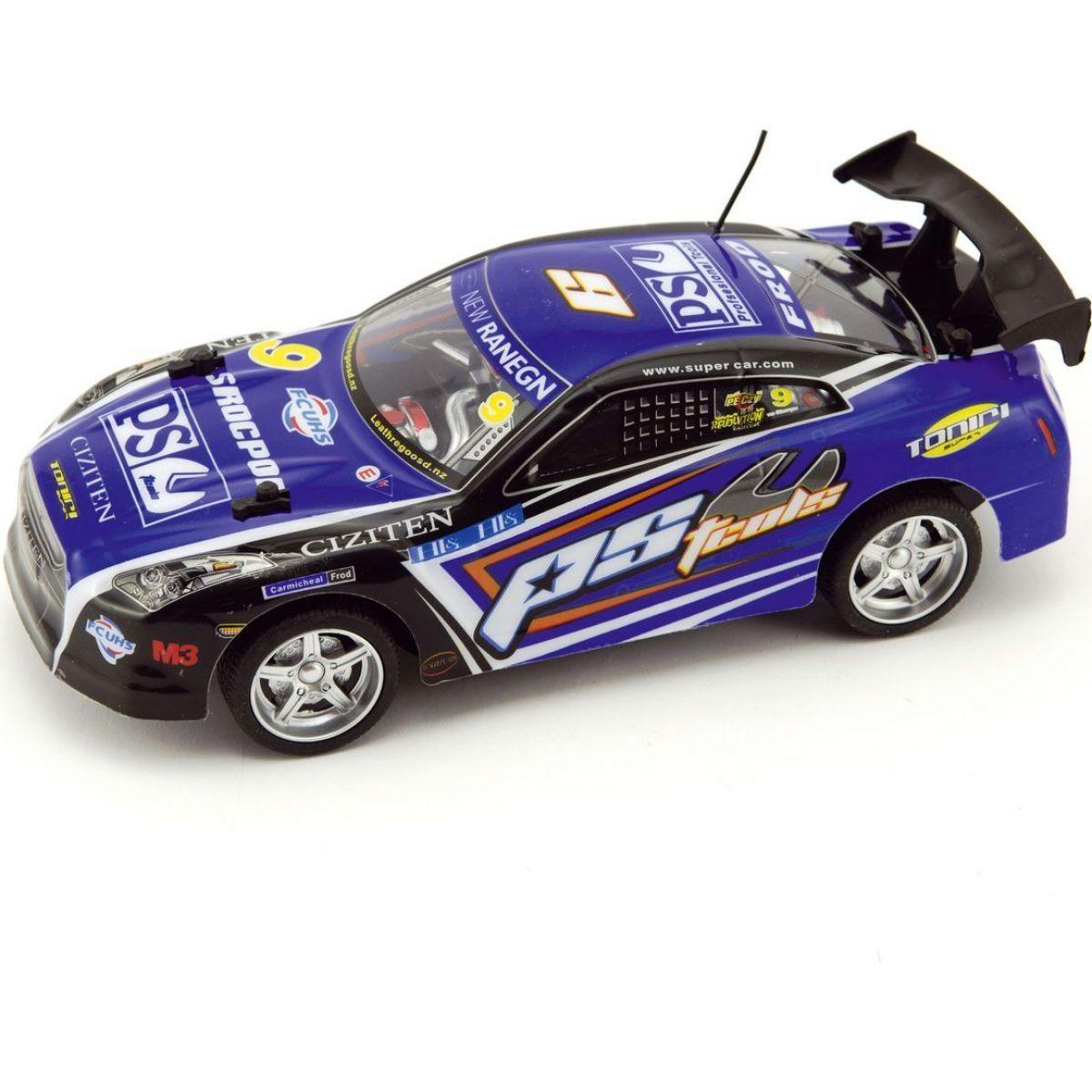 Teddies RC auto na batérie 1:18 zrýchľujúce 27MHz