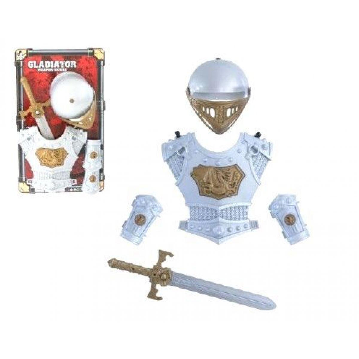 Teddies Rytierska sada s mečom, štítom a prilbou