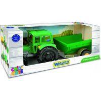 Traktor s vlečkou 38 cm 2