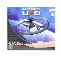 Ufo lietajúci prstenec plast na batérie svietiaci