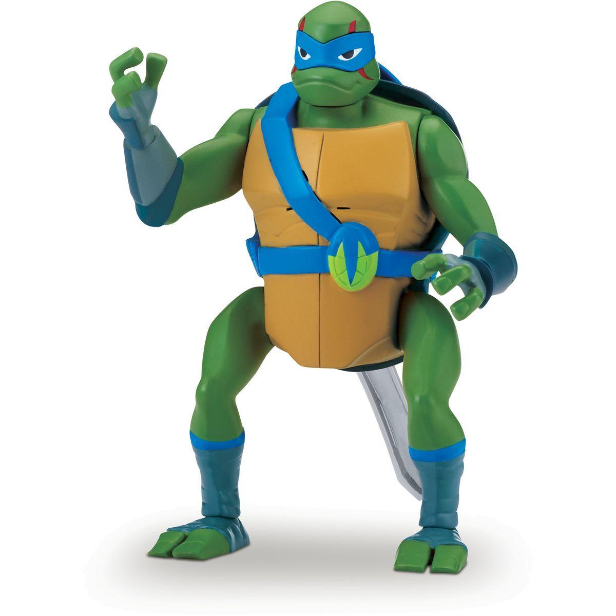 Teenage Mutant Ninja Turtles figúrka so zvukom Leonardo