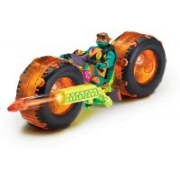 Teenage Mutant Ninja Turtles motorka s figurkou Michelangelo - Poškodený obal 2