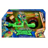 Teenage Mutant Ninja Turtles motorka s figurkou Michelangelo - Poškodený obal 5