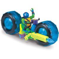 Teenage Mutant Ninja Turtles motorka s figurkou Leonardo