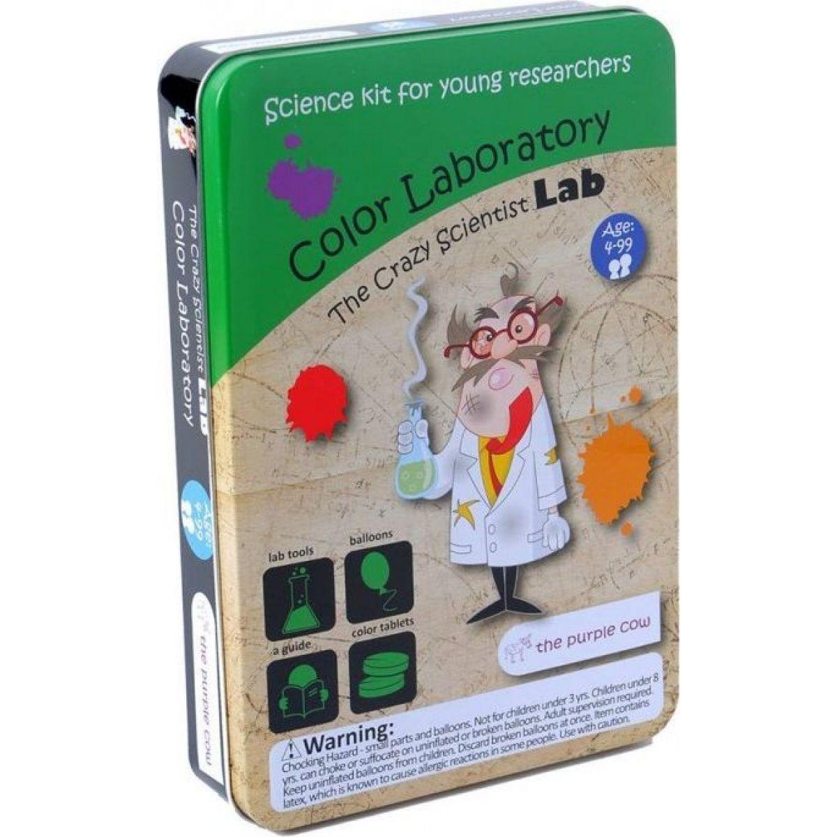 The Purple Cow Bláznivá vedecké laboratórium Farebná laboratórium