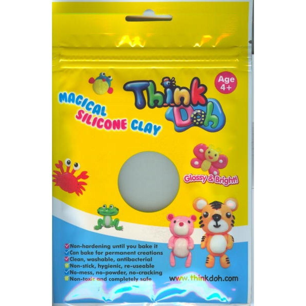 Think Doh TD29601-N60 silikonová hmota svítící ve tmě fialová