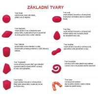 Think Doh silikonová modelína červená 3