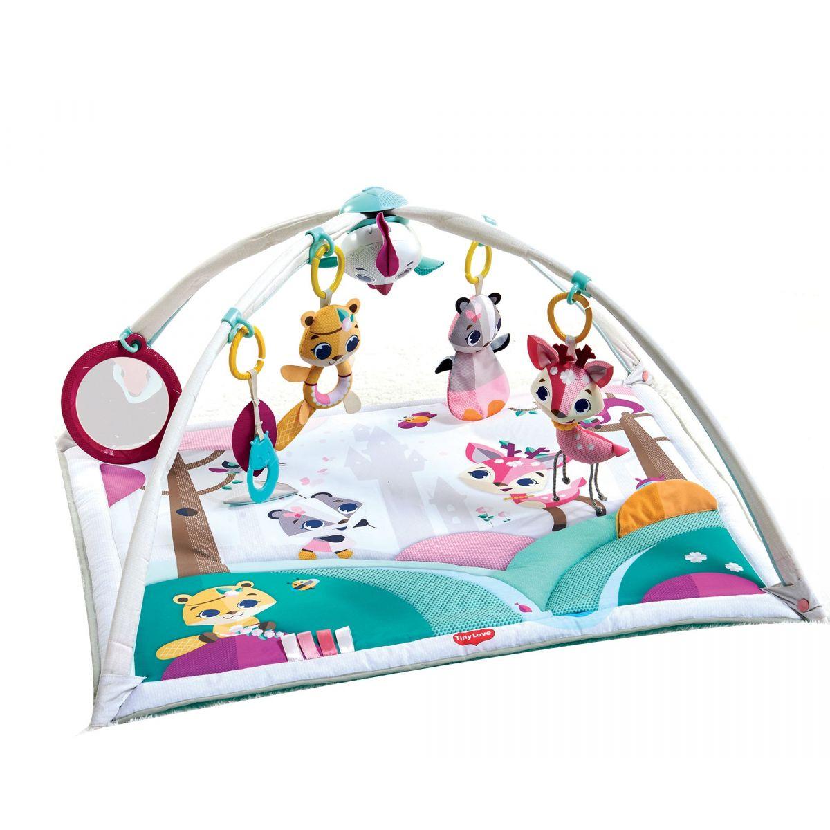 Tiny Love Hracia deka s hrazdou Gymini Princess Tales