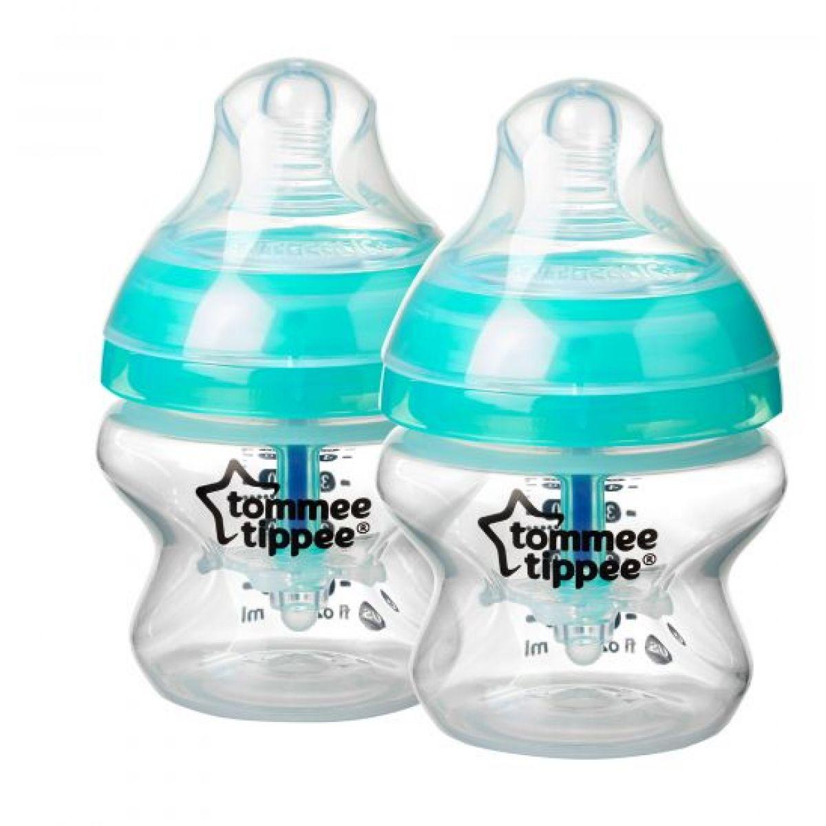 Tommee Tippee Dojčenská fľaša C2N Anti-Colic 150ml 2ks 0m +