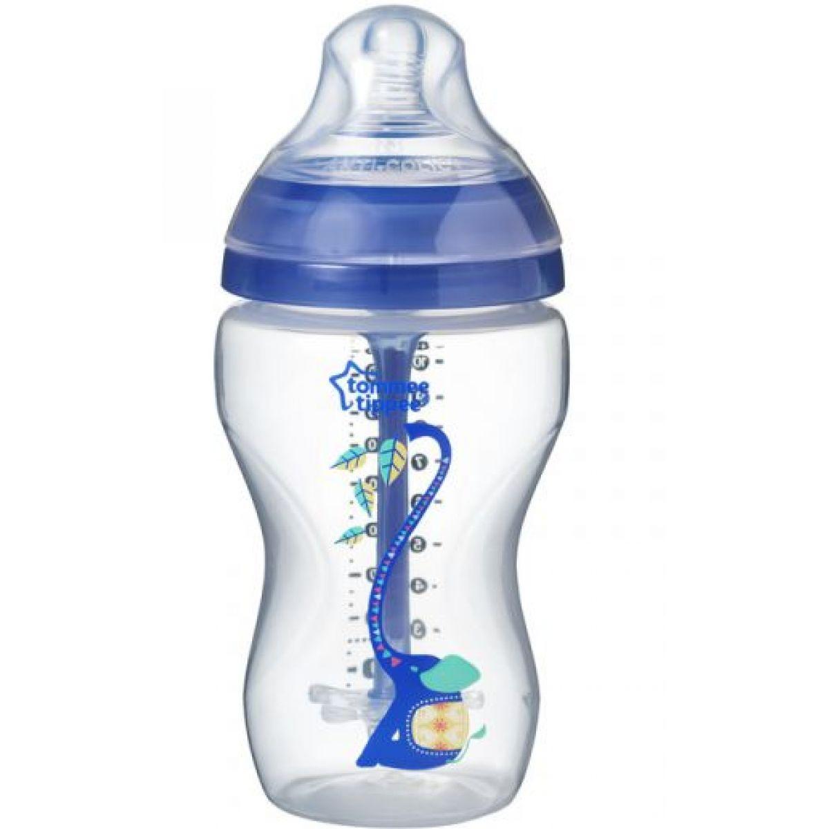 Tommee Tippee Dojčenská fľaša C2N ANTI-COLIC Boy 340 ml 3m +