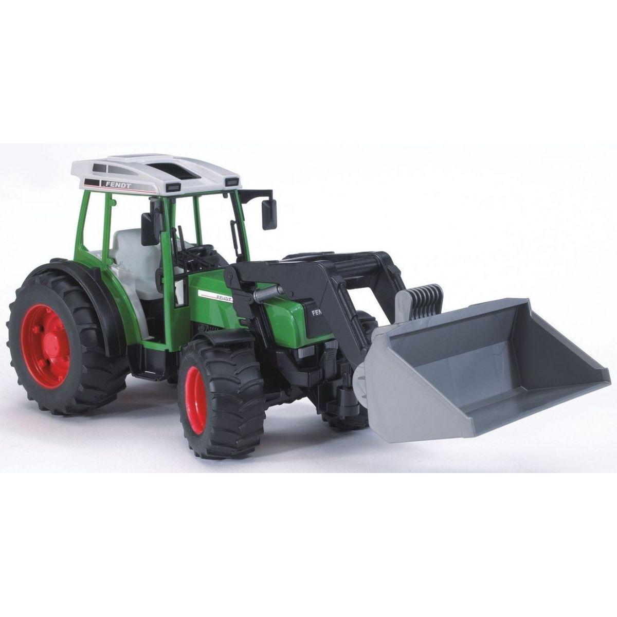 BRUDER 2101 Traktor Fendt Farmer 209S s lyžicou