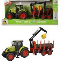 Traktor s vlečkou na zotrvačník, 38cm