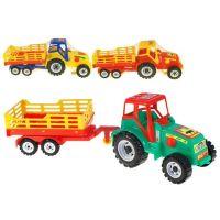 Traktor s vlekem Farmer 46cm