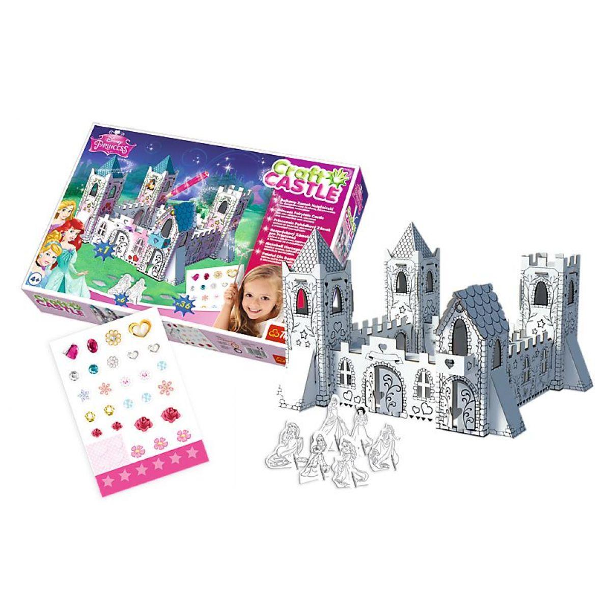 TREFL 3D puzzle Princeznin pohádkový zámek