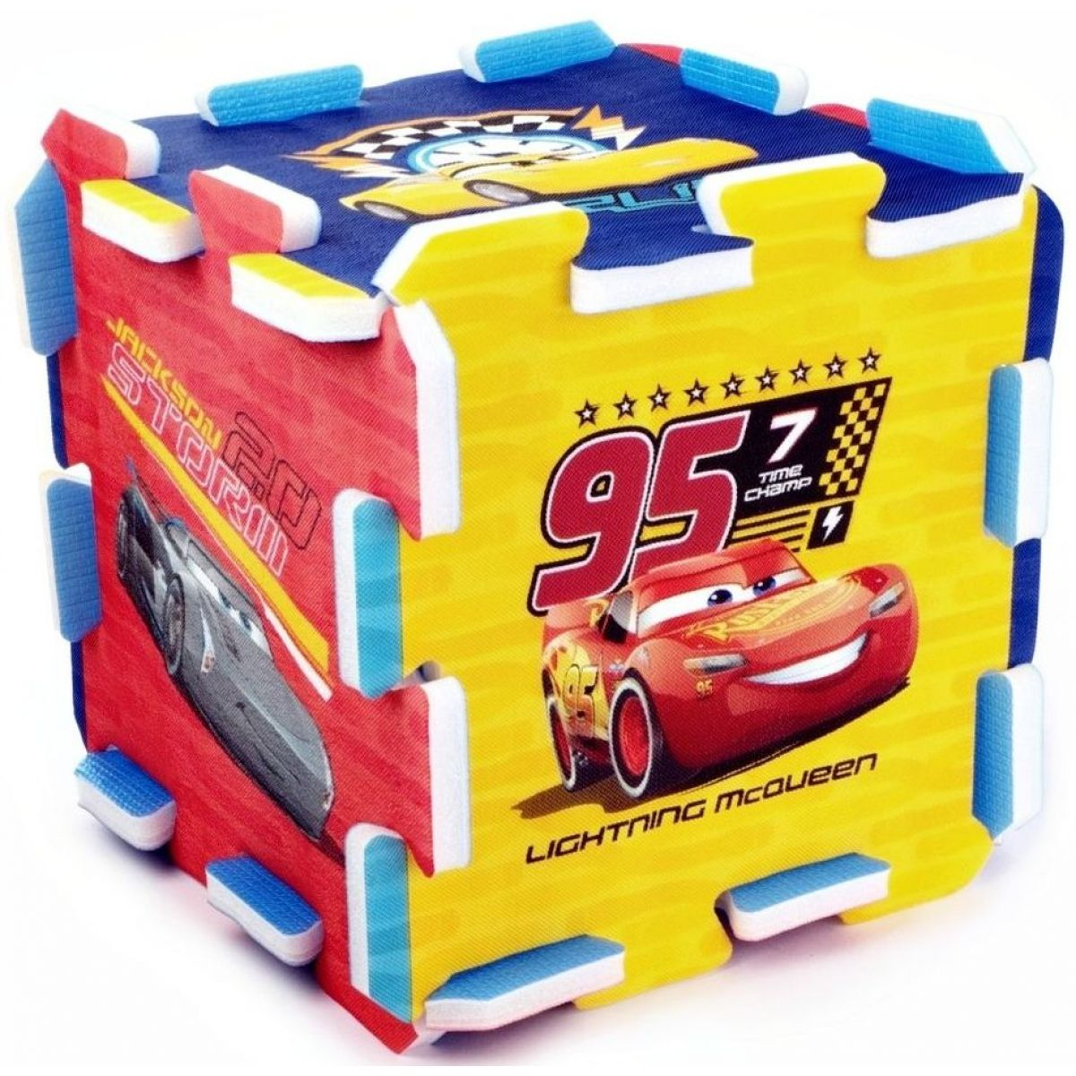 Trefl Pěnové puzzle Cars 3 Auta 32x32x15cm 8ks
