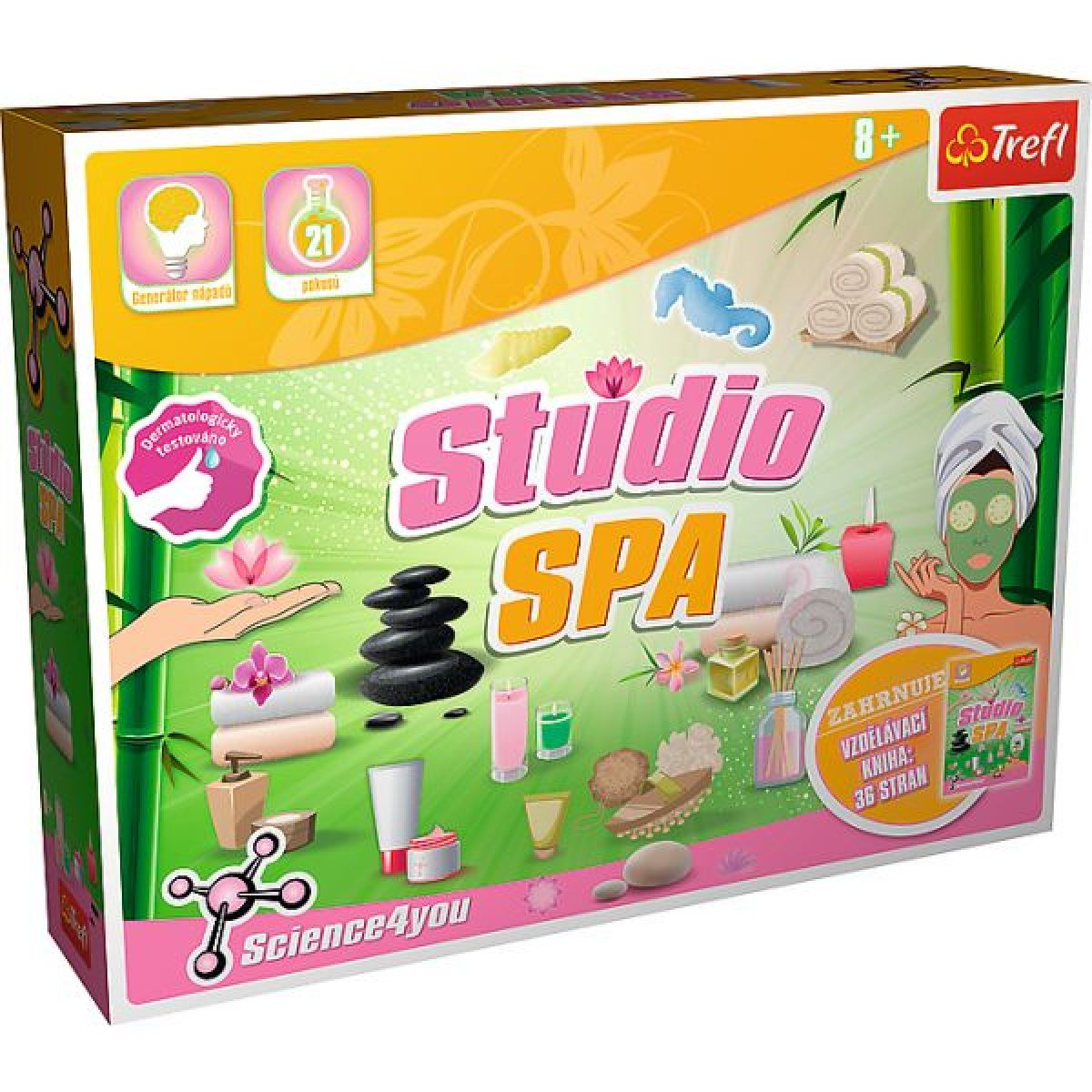 Trefl Studio SPA a puzzle zadarmo