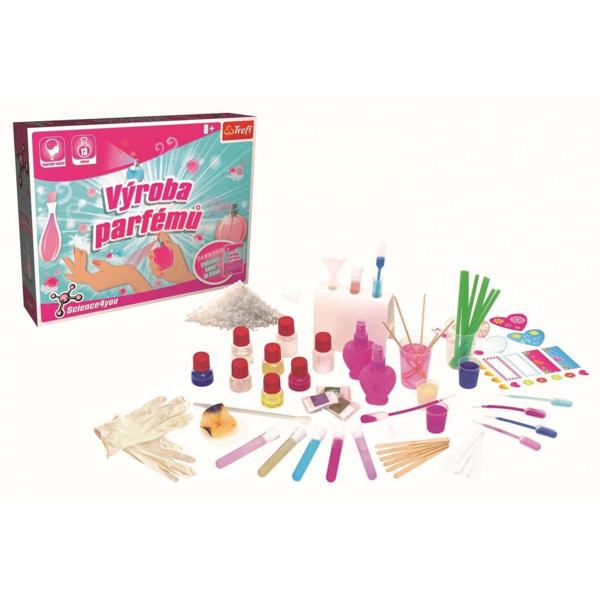 Trefl Výroba parfumov L a puzzle zadarmo