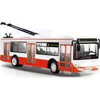 Rappa Trolejbus hlási zastávky po česky, 28 cm