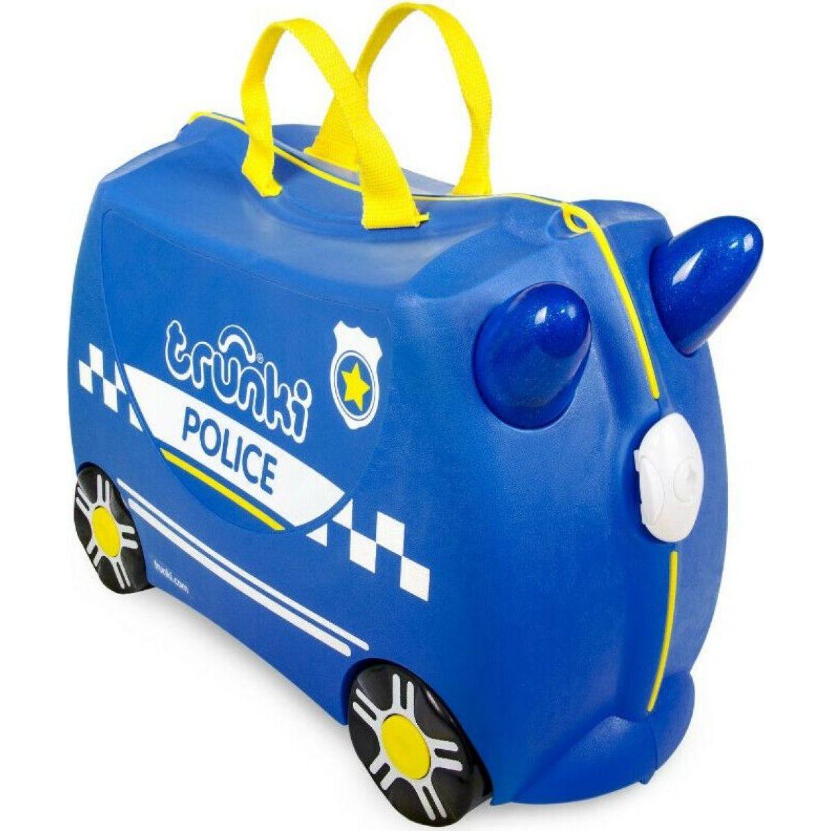 Trunki Kufřík odrážadlo policajné auto Percy