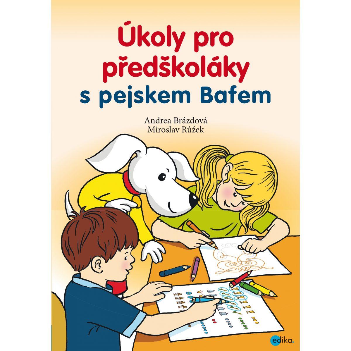 Úlohy pre predškolákov s psíkom Bafbafom