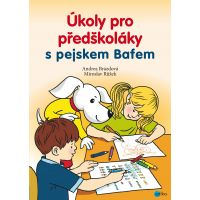 Úkoly pro předškoláky s pejskem Bafem