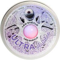 Ultra Plastelína 50g s led světlem fialová