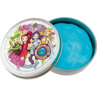 Ultra Plastelína Lollipopz, svietiace v tme, 50 g modrá