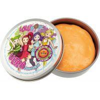 Ultra Plastelína Lollipopz, svietiace v tme, 50 g oranžová