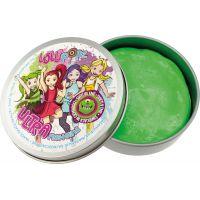 Ultra Plastelína Lollipopz, svietiace v tme, 50 g zelená