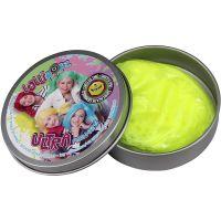 Ultra Plastelína Lollipopz, svítící ve tmě, 50 g žlutá