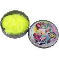 Ultra Plastelína Lollipopz, svietiace v tme, 50 g žltá 3