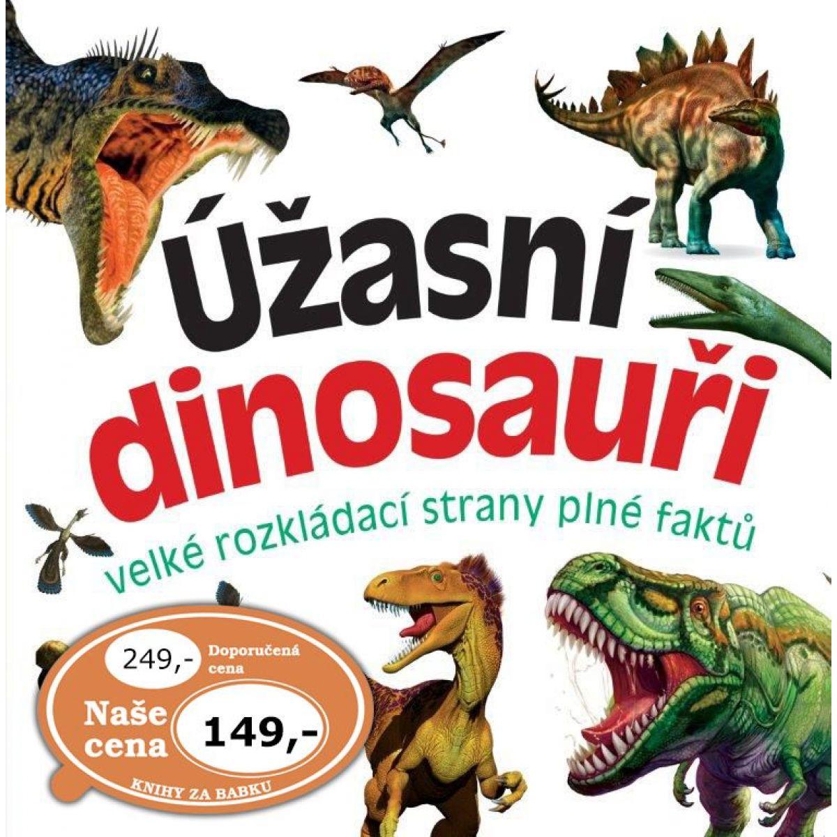 Bookmedia Úžasní dinosaury
