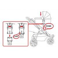 Valco Baby Adaptér pre pevnú korbu Q - Poškodený obal