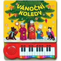 Vánoční koledy piano