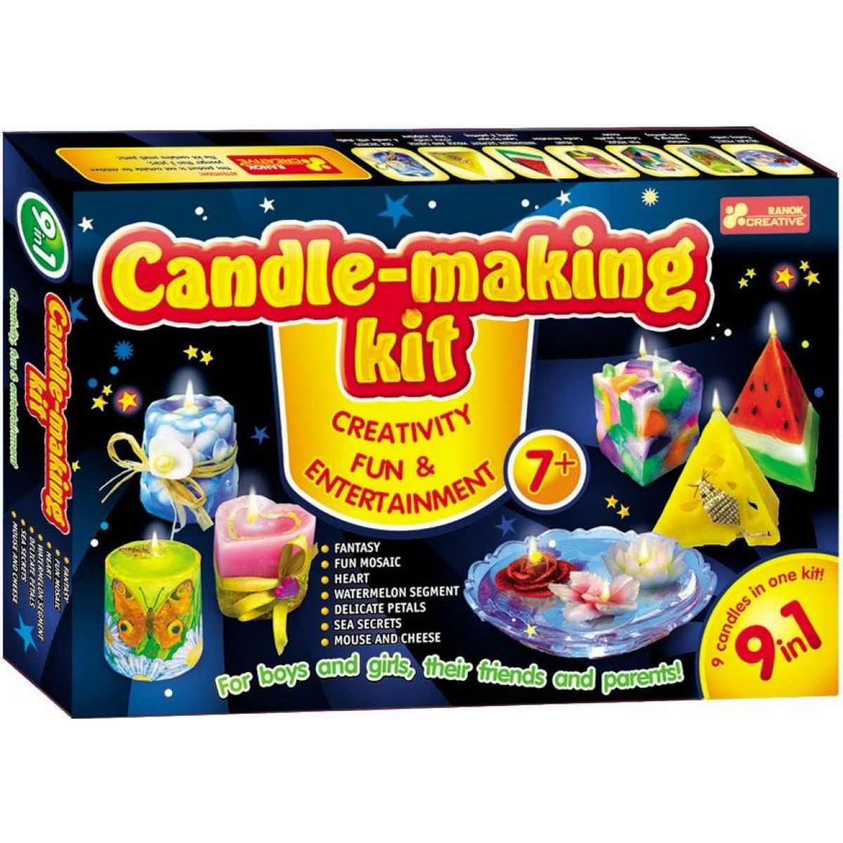 Veľká sada na výrobu sviečok