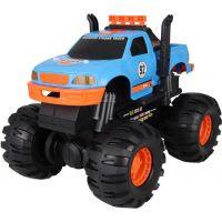 Velké terénní auto 40 cm modro-oranžové