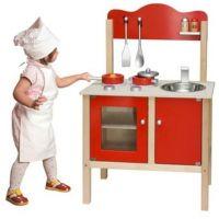 Viga Kuchyň červená s příslušenstvím 2