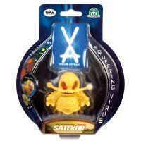 EP Line Virus Attack exkluzivní 7,5 cm Satekor žlutý 3
