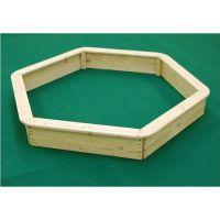Vladeko drevené pieskovisko šesťboké 5