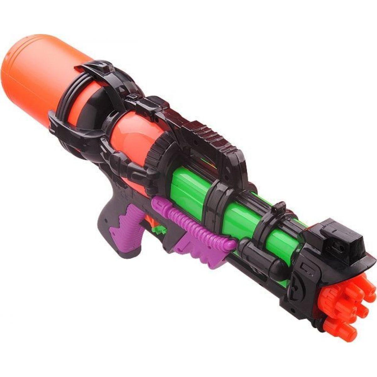 Vodné pištole 46 cm oranžová nádrž